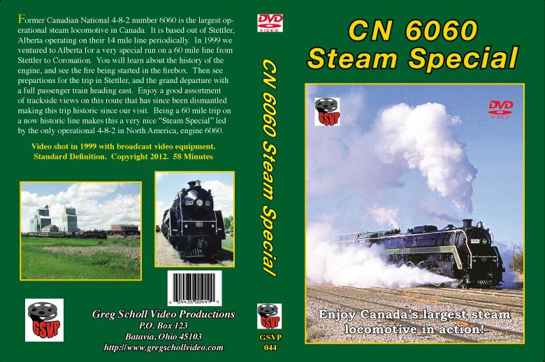 Western Steam Train DVD's