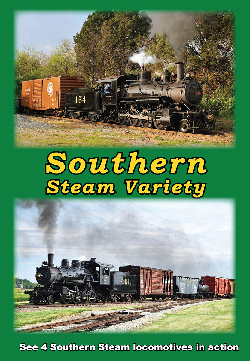 Eastern Steam Train DVD's